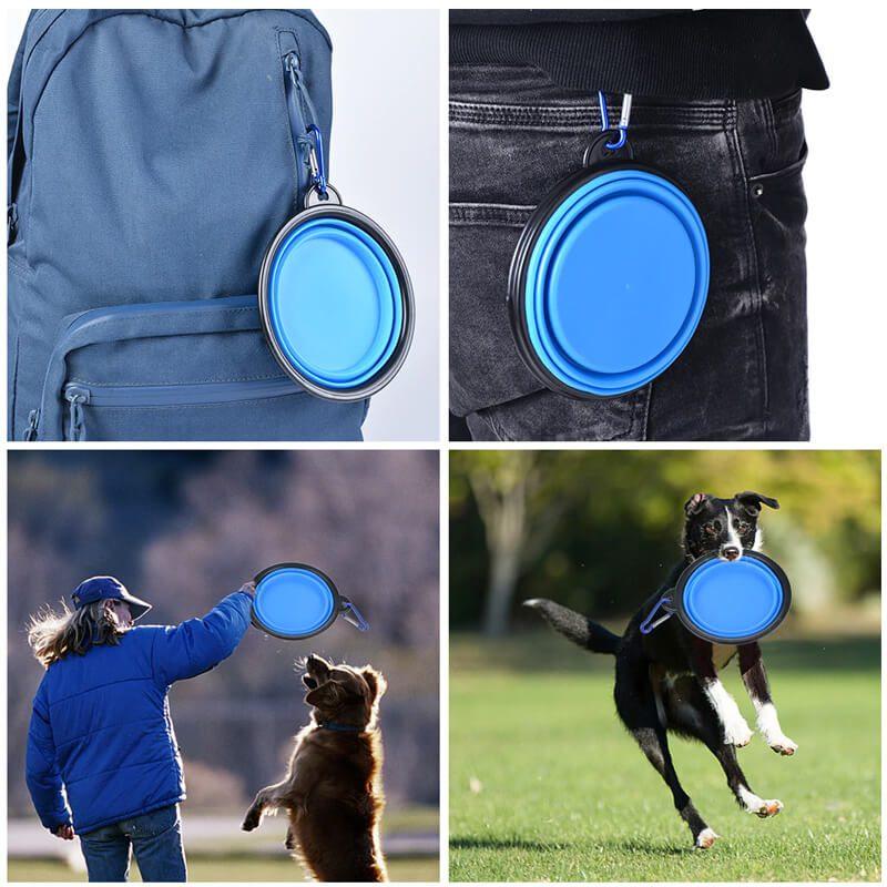 silikonska posoda za psa