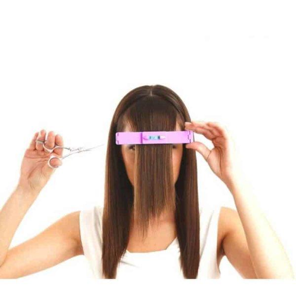 striženje sprednjih las pripomoček