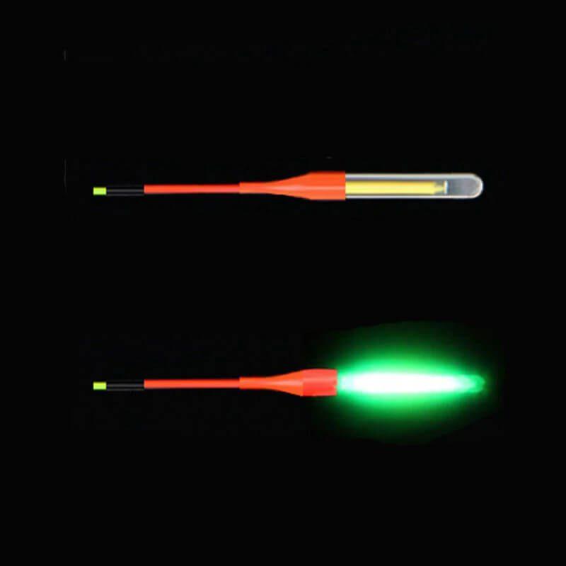 svetleča palčka za nočni ribolov
