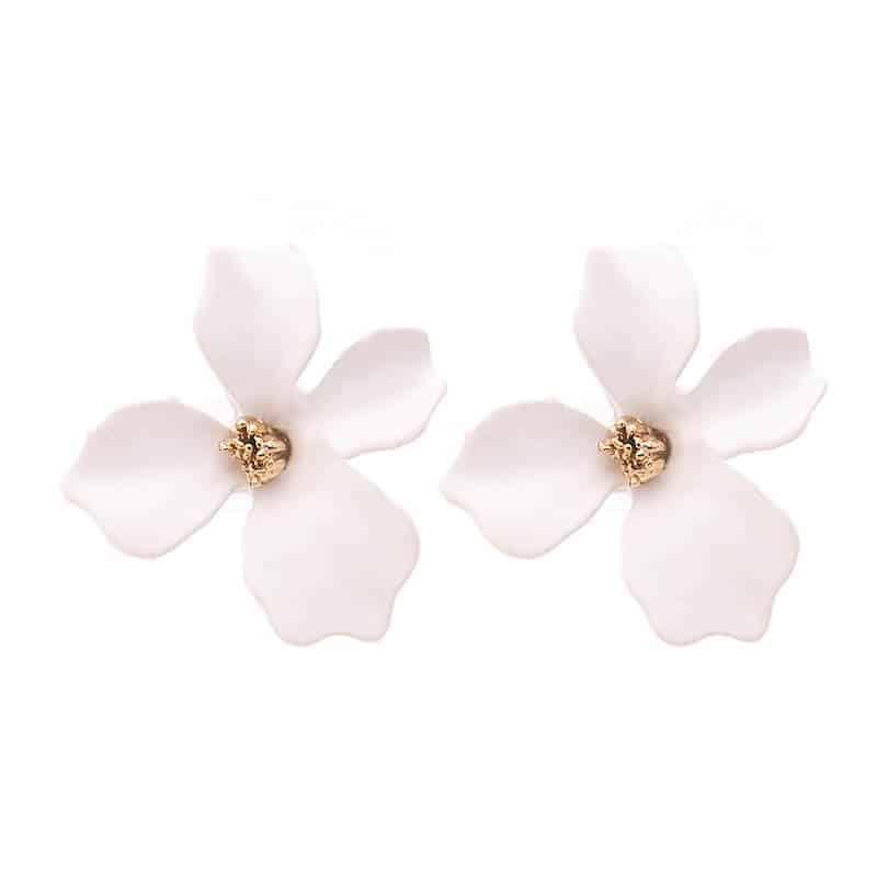 Ženski uhani v obliki rože - Več barv 1