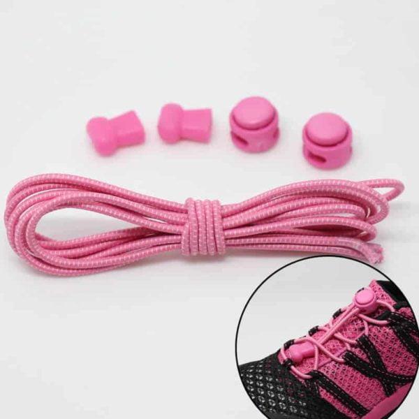 elastične vezalke pinky kvalitetne za otroke in odrasle