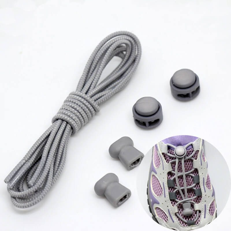 elastične vezalke sive brez zavezovanja