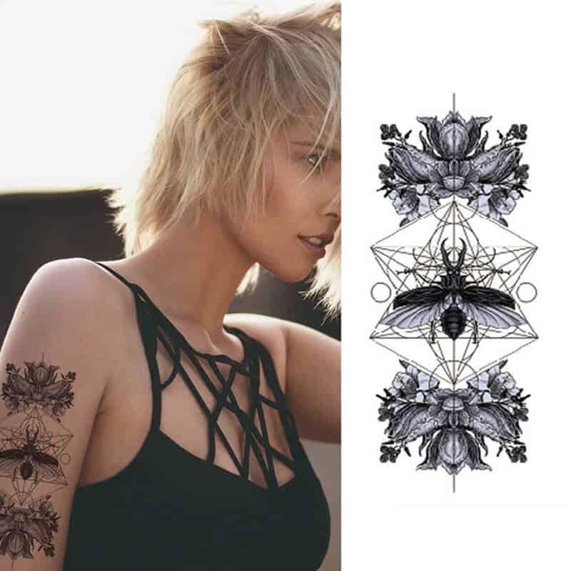 Začasni tattoo - drznost in uživanje 1