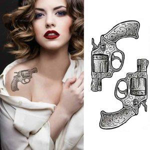 Začasni tattoo drnost in divjost