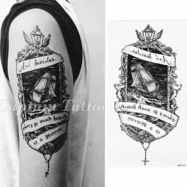 Začasni tattoo moč in premagovanje ovir