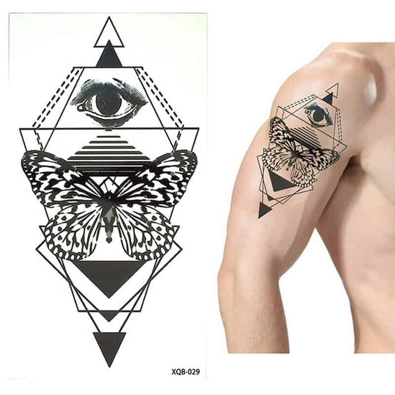 Začasni tattoo - moč in zavedanje 1