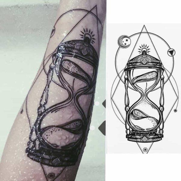 Začasni tattoo ravnovesje v življenju