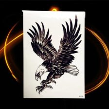 začasni tattoo mogocni orel ptica