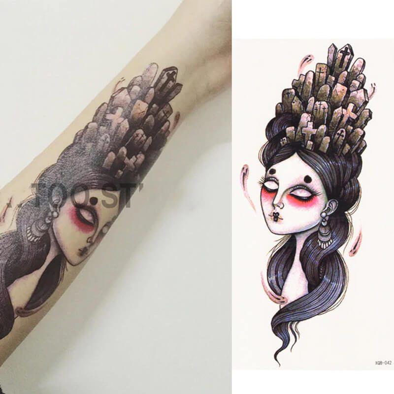 začasni tattoo premagene težave v življenju