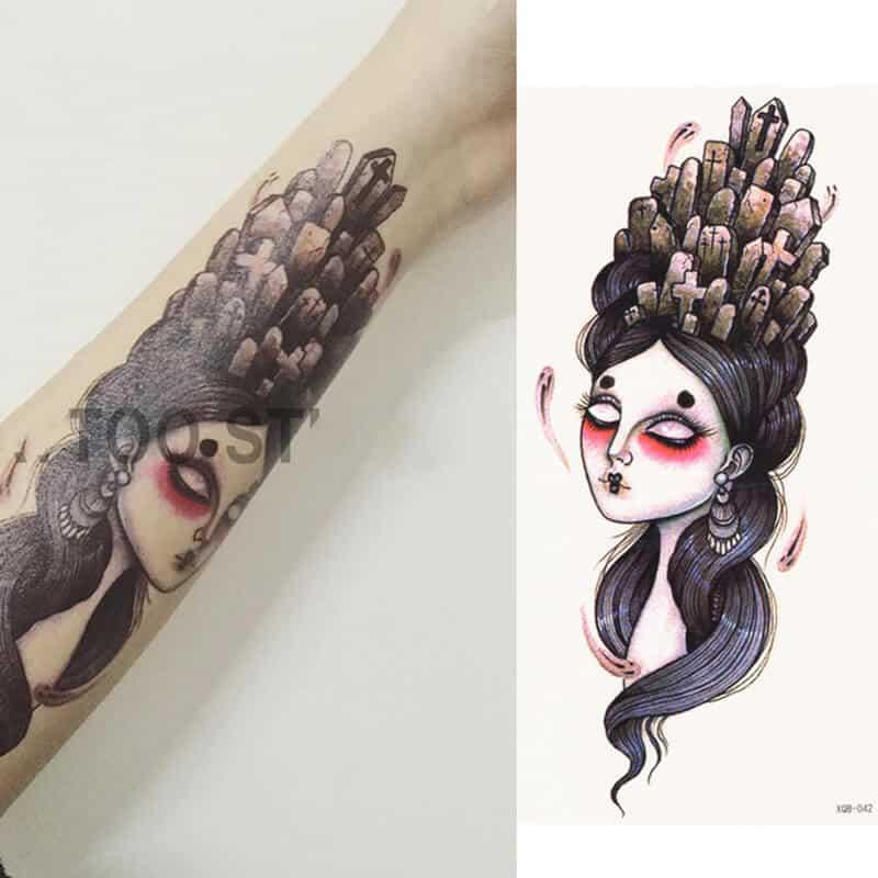 začasni tattoo - pokopana preteklost 1