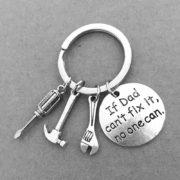 obesek za ključe if dad can't fix it no one can