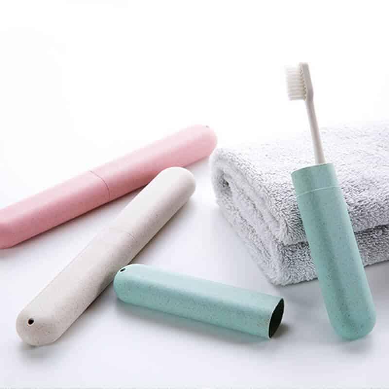 škatla za zobno ščetko prenosna različne barve