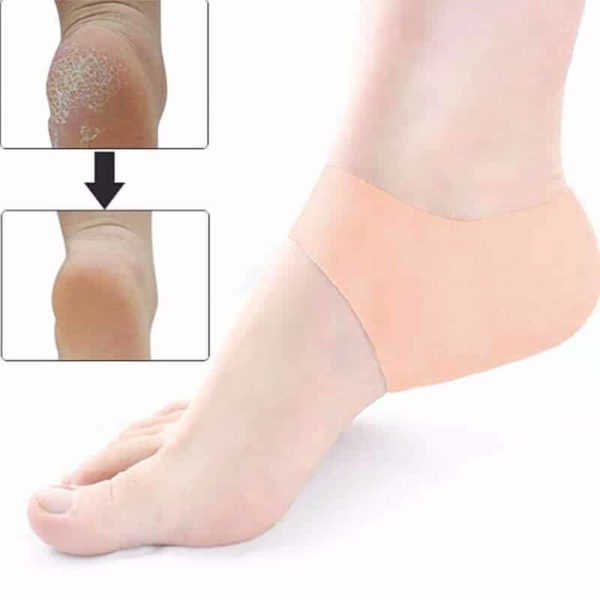 Boleča stopala - mehka silikonska blazinica za peto 1