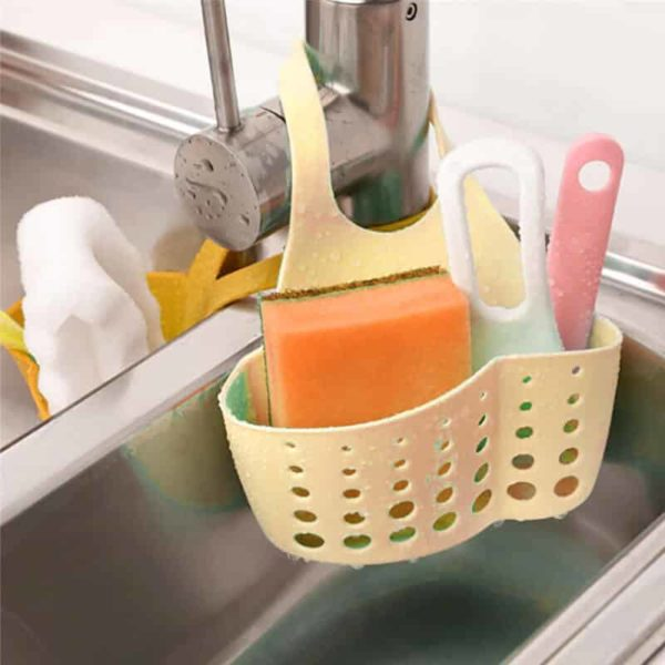 Držalo za kuhinjske čistilne kuhinjske pripomočke