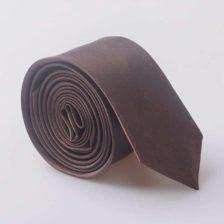Elegantna kravata - rjava barva