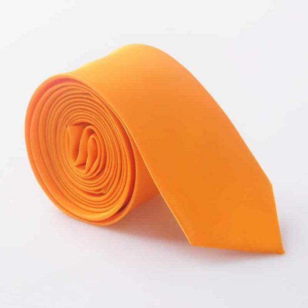 Elegantna kravata - rumena barva