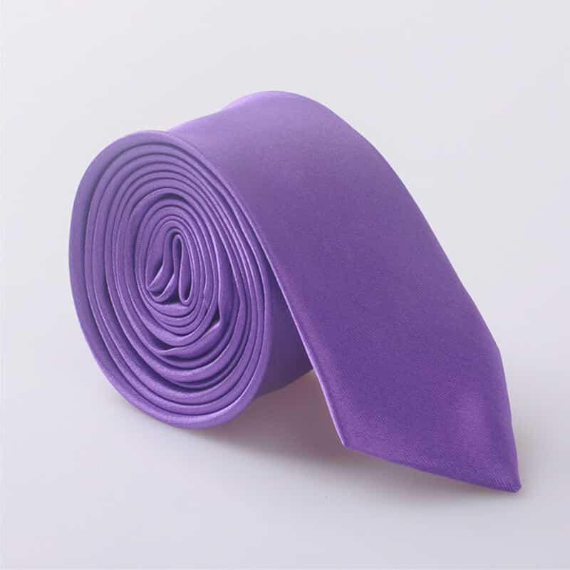 Elegantna kravata - vijolična barva