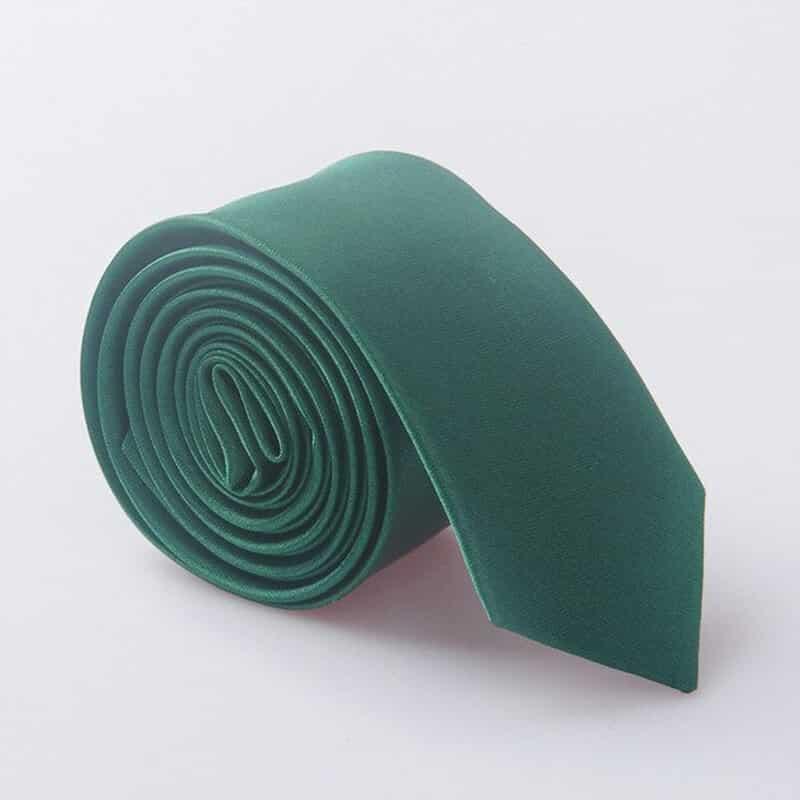 Elegantna kravata - zelena barva
