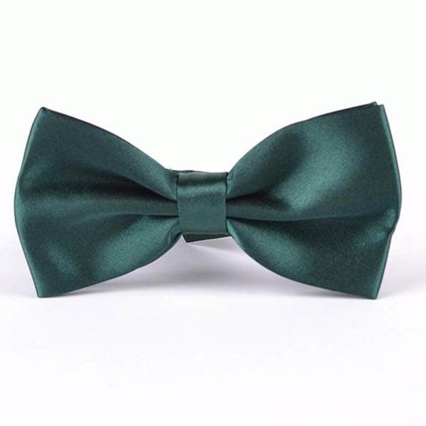 Elegantni metuljček temno zelena barva