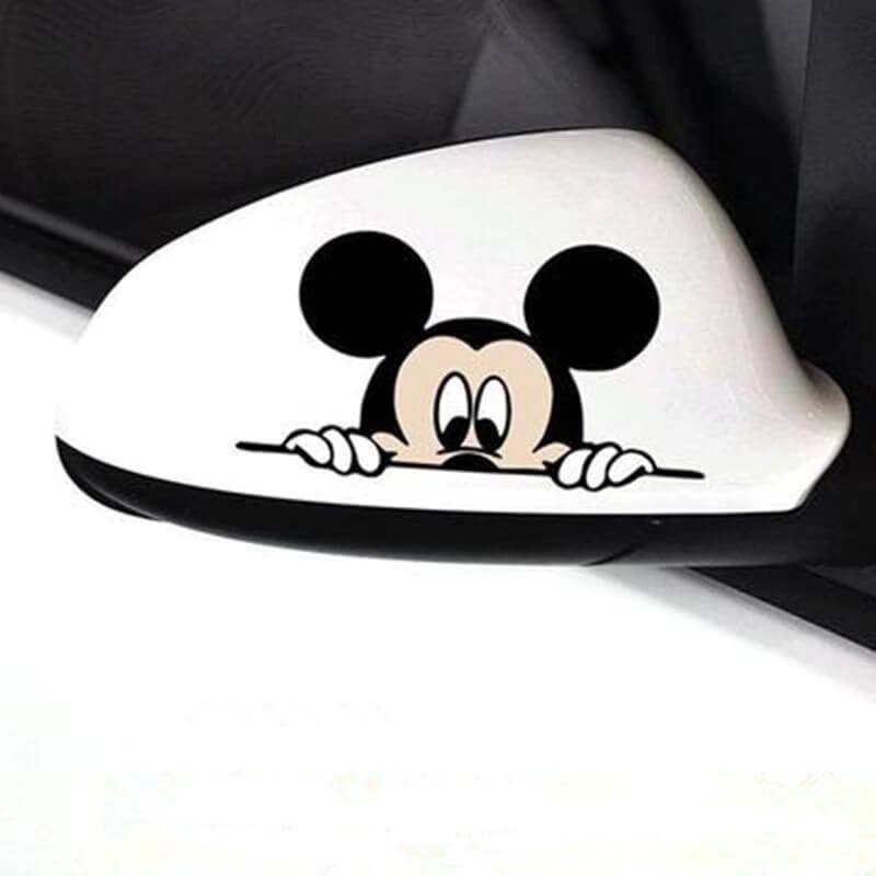 Mickey Mouse nalepka za avto