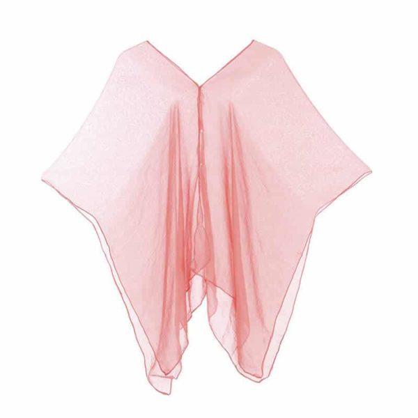 Moderna obleka za plažo roza barva Moderna obleka za plažo roza barva