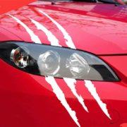 Nalepka za avto praske