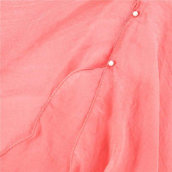 Obleka za plažo roza barva kvaliteten materijal
