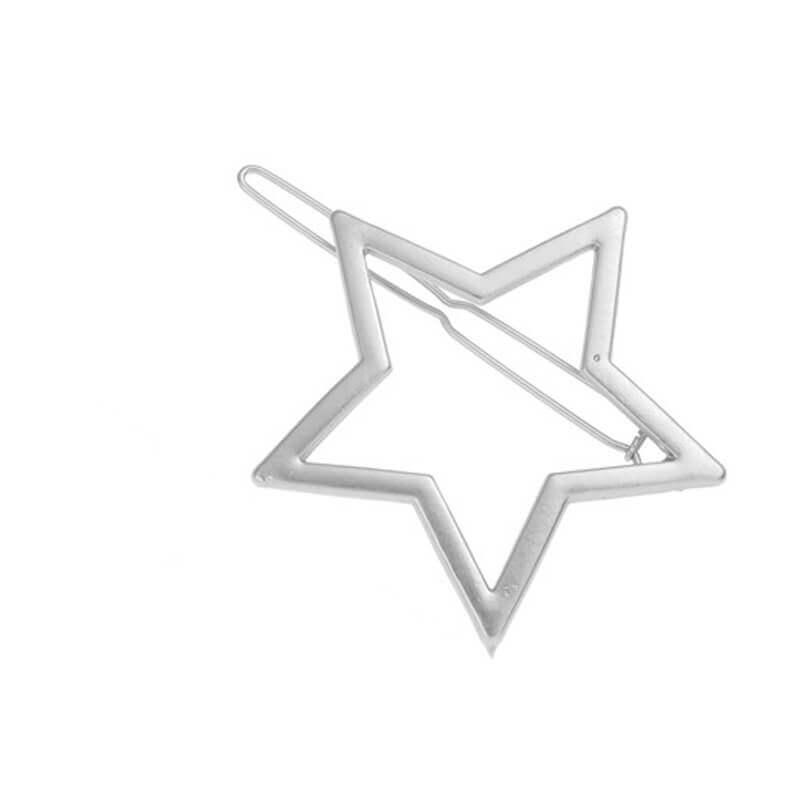 Sponka za lase v vzorcu zvezdice 1