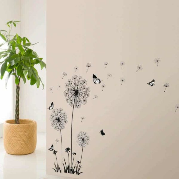Stenske nalepke Regratovi cvetovi