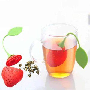 cedilo za čaj iz silikona