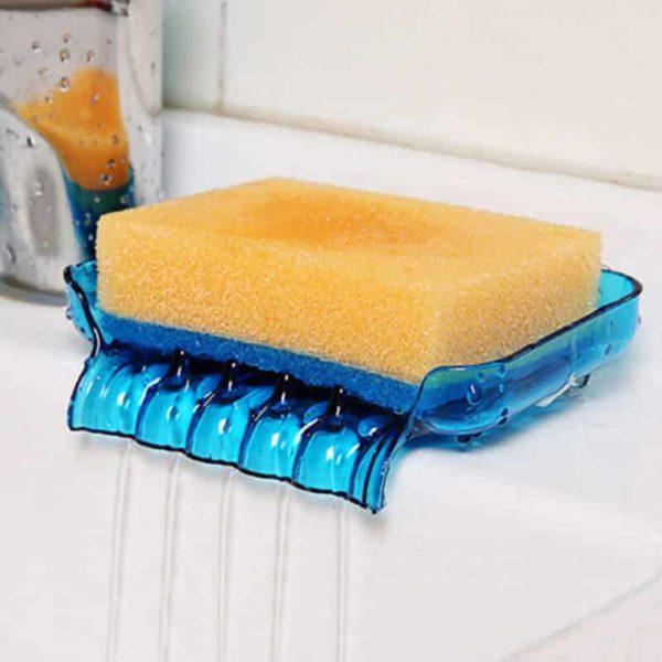 držalo za gobo modre barve s tehnologijo odtekanja