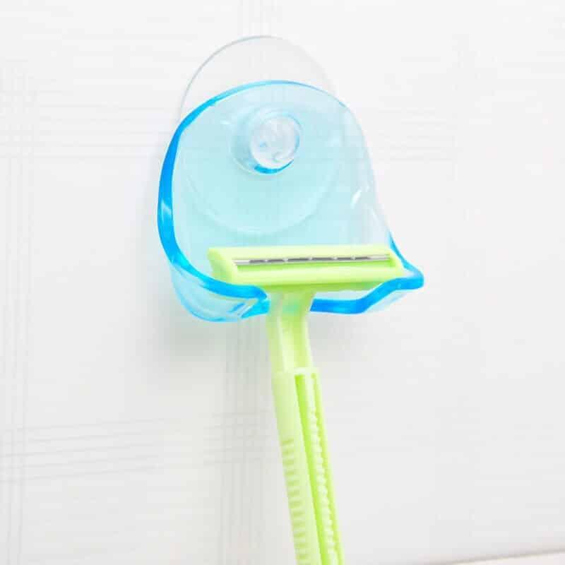 držalo za britvico modre barve