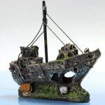 gusarska ladija dekoracija za akvarij