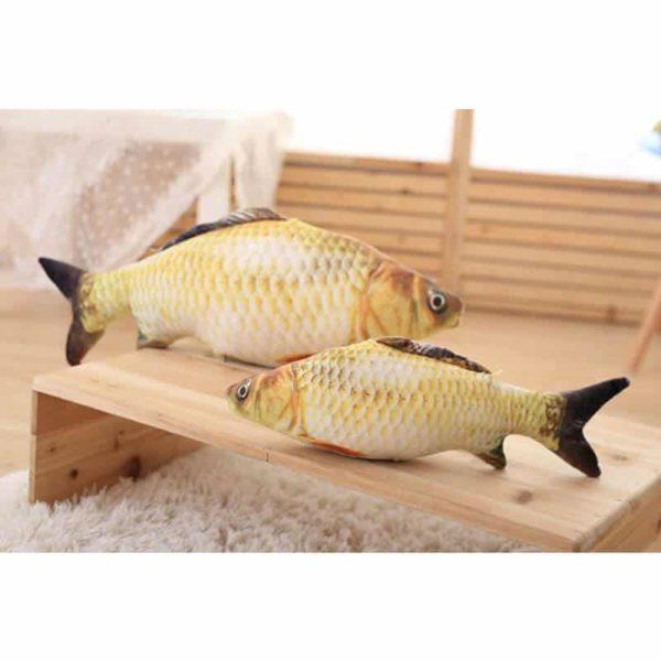 igrača za mačko riba plišasta krap