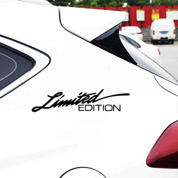 limited edition nalepka za avto