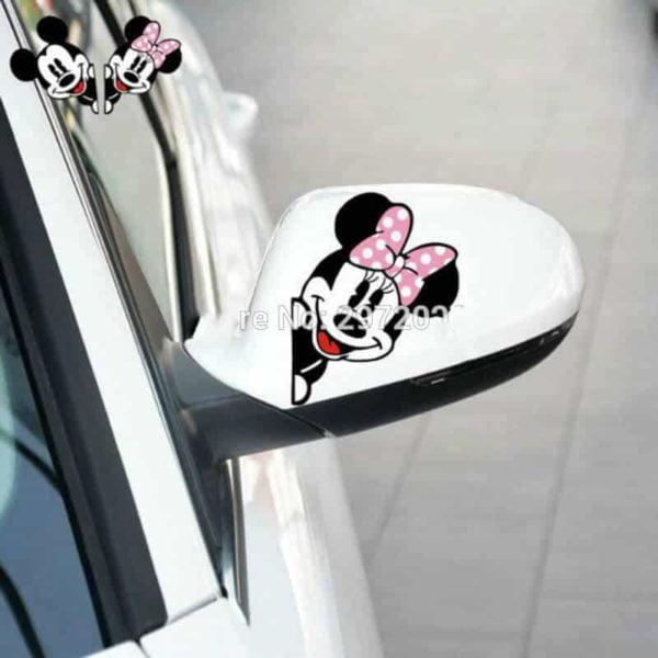 nalepka Mickey and Minnie
