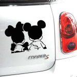 nalepka micky mouse za avto