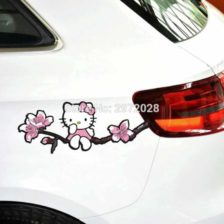 nalepka za avto Hello Kitty
