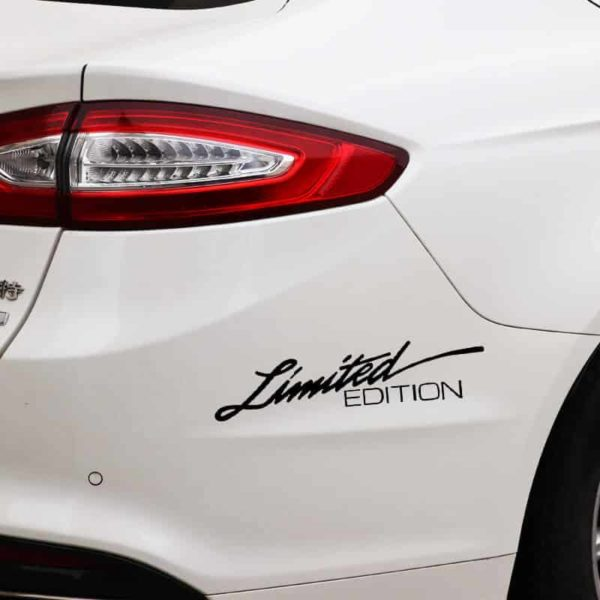 nalepka za avto limited edition