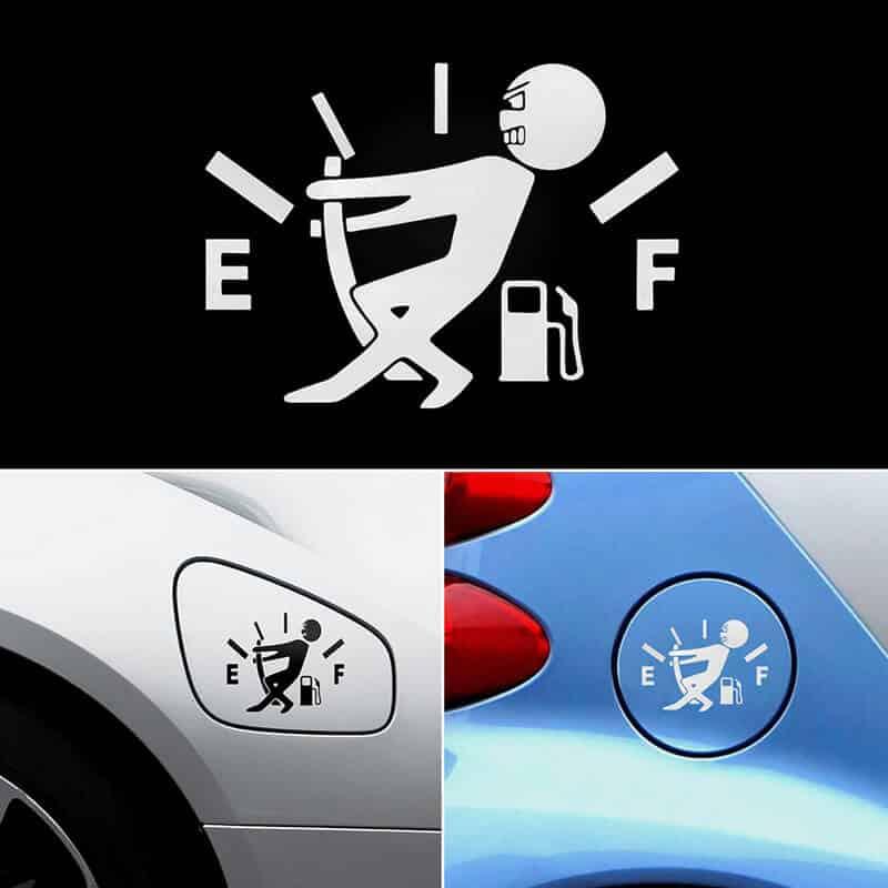 nalepke za avto gorivo