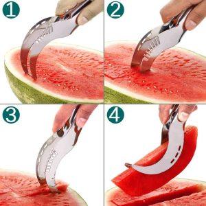 nož za rezanje lubenice. in navodila