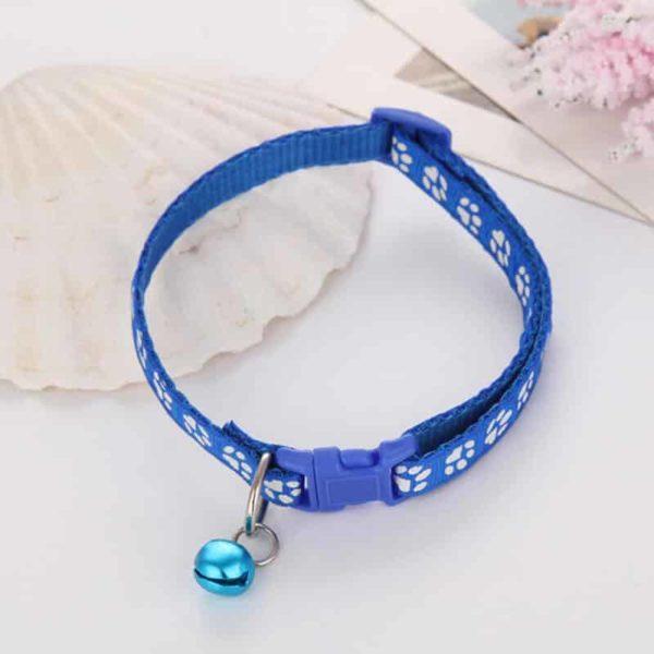 ovratnica za mačke modre barve