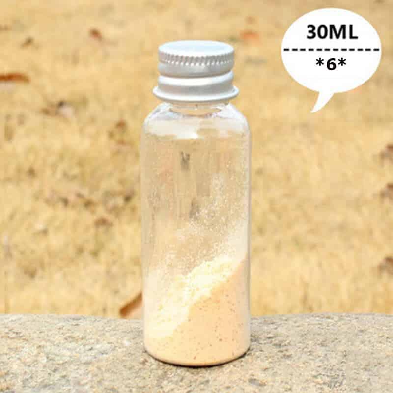 plastična plastenka za shranjevanje suhih začimb