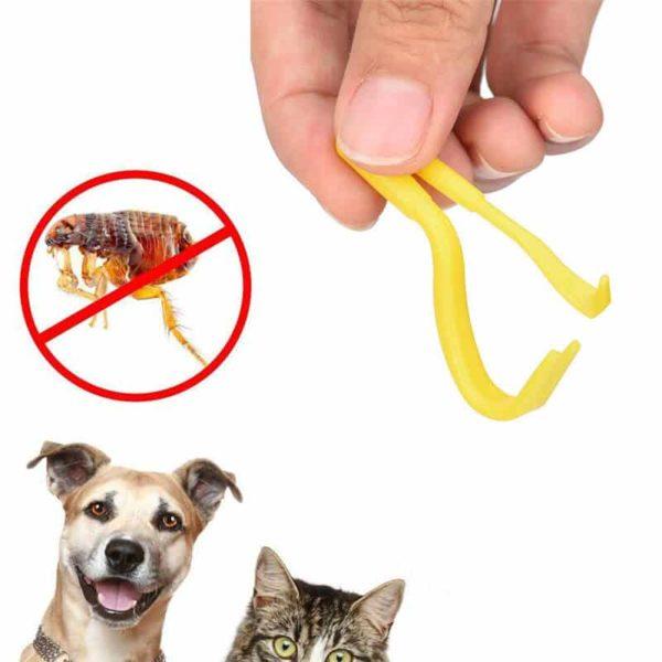 pripomoček za odstranjevanje klopov pri psih