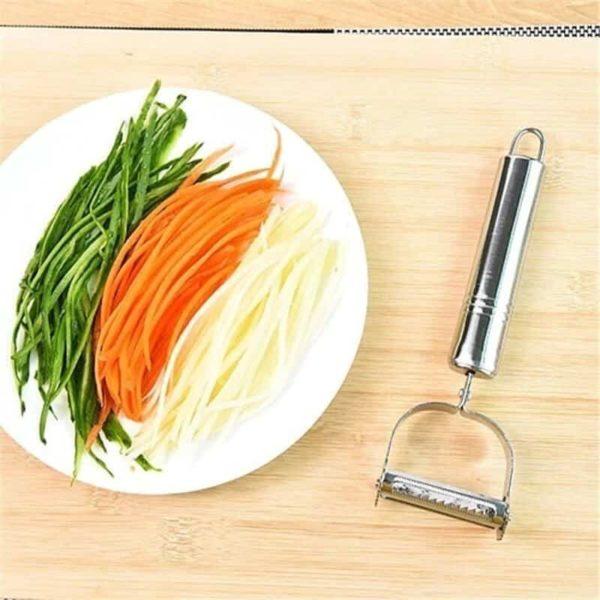 rezalnik zelenjave in lupilnik v enem