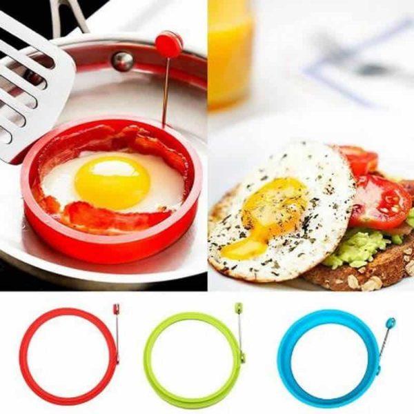 silikonski model za peko jajc ali palačink