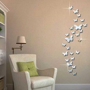 stenske nalepke metuljček
