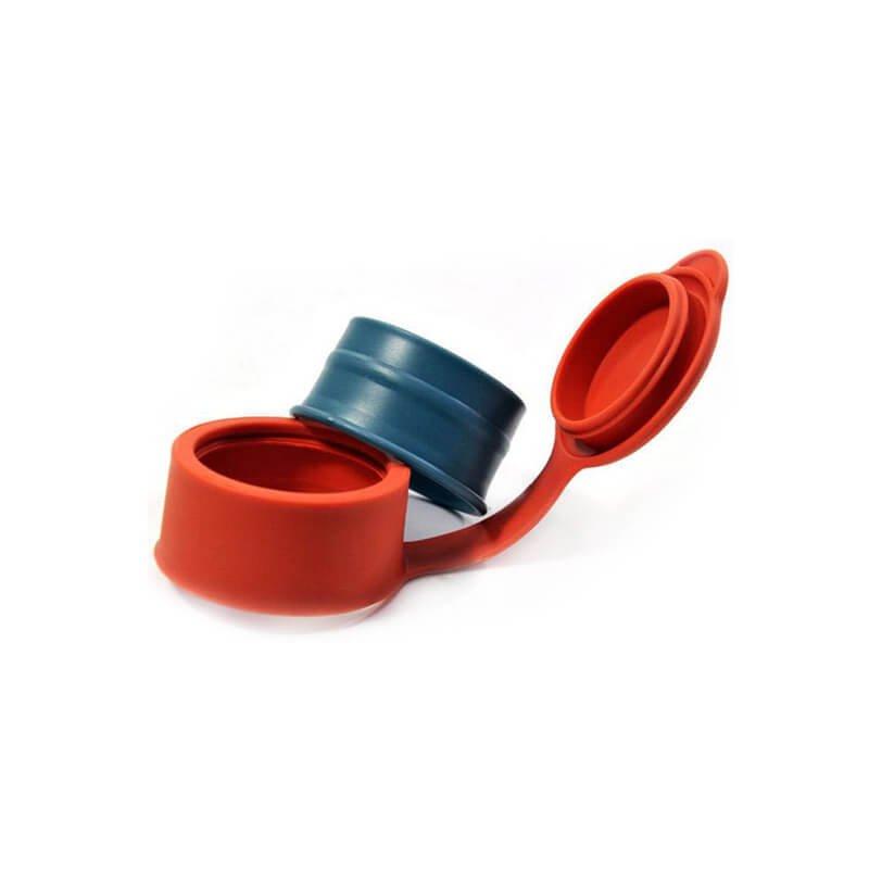 zamašek za vrečko rdeče barve