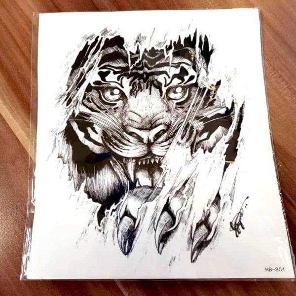 tattoo tiger šapa