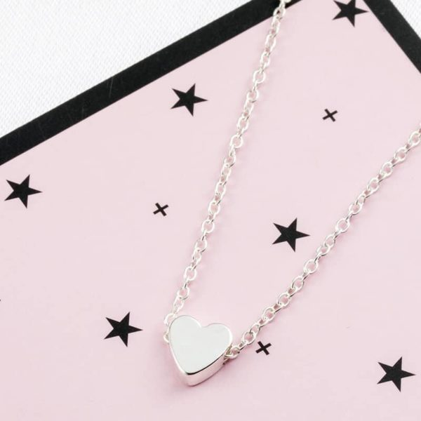 verižica z simbolom srca